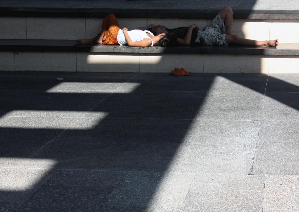 Resting at Habima.jpg